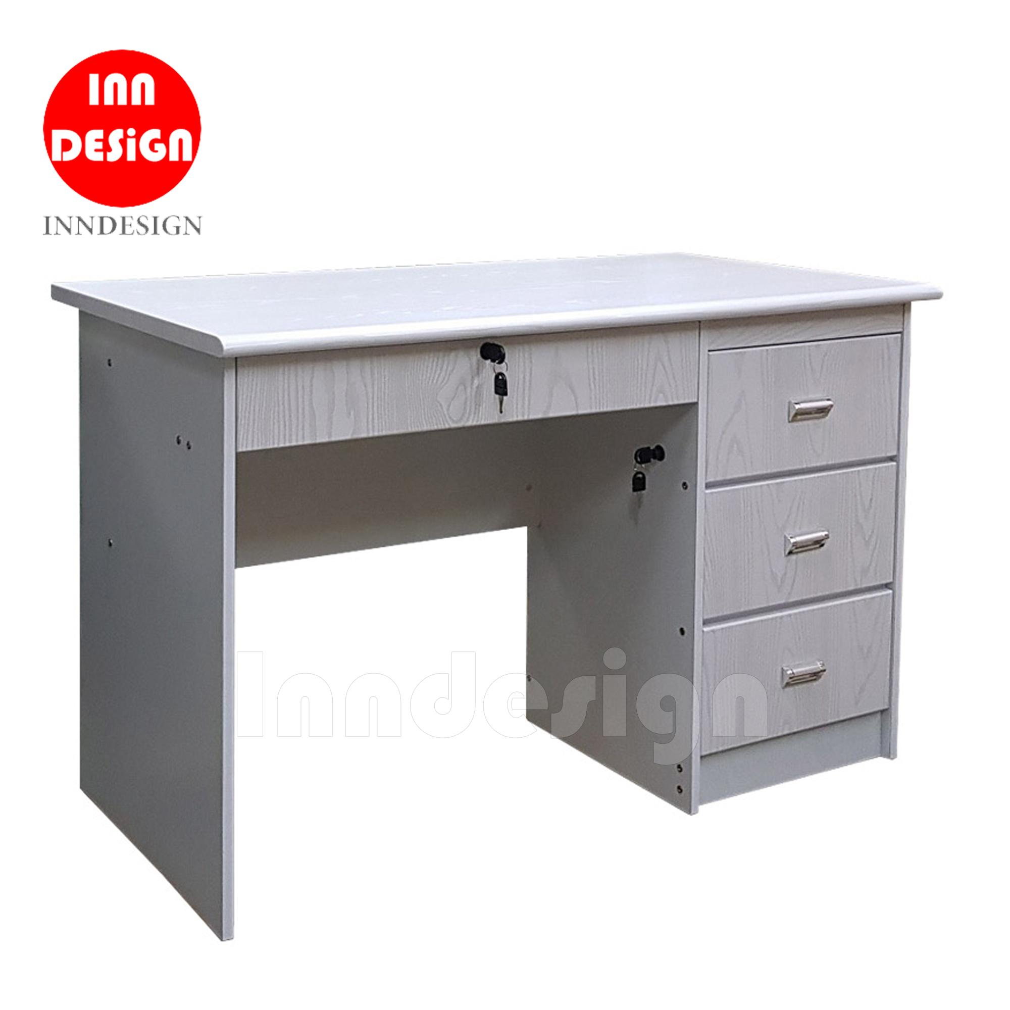 Posland Study Table/Office Table  L120cm  [Free Delivery+Installation]