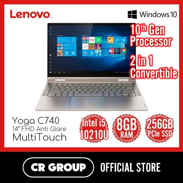 Lenovo Yoga C740 14 Inch Touchscreen | Intel Core i5-10210U | 8GB DDR4 RAM | 256GB PCle SSD | 2 in 1 Convertible