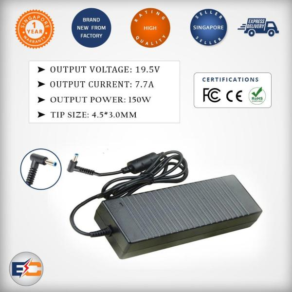 Replacement 19.5v 7.7a 150w (4.5*3.0mm) Laptop Charger Compatible for 15 G3 W2Y15PA W2F74 03 775626-003 776620-001 150XB