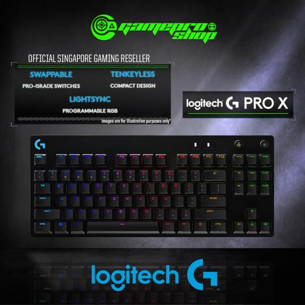 Logitech G Pro X Mechanical Gaming Keyboard - 920-009239 (2Y) Singapore