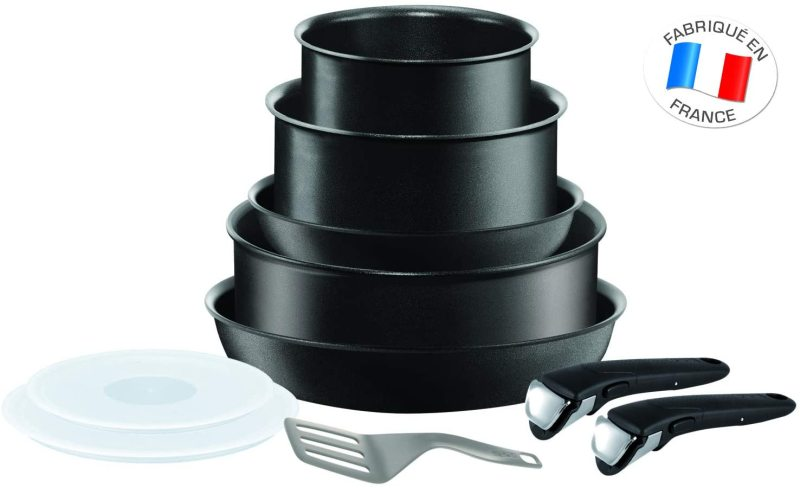 Tefal Ingenio 10pc Cookware for Induction and all type of cooktops (Preorder -  Will arrive in 5-7 working days) Singapore