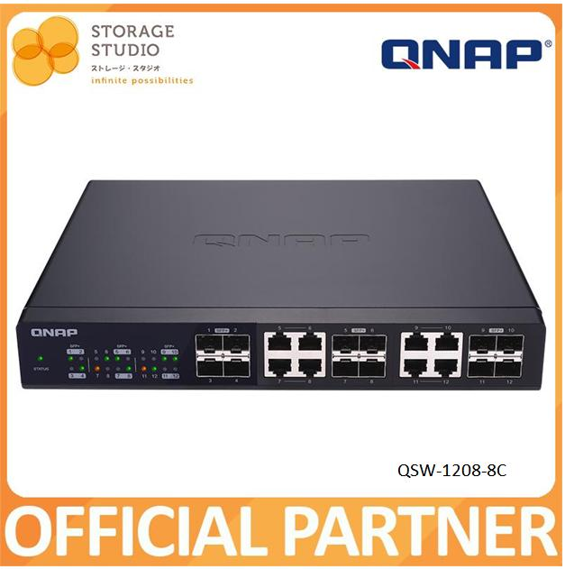 QNAP 10GbE Switch: QSW-1208-8C