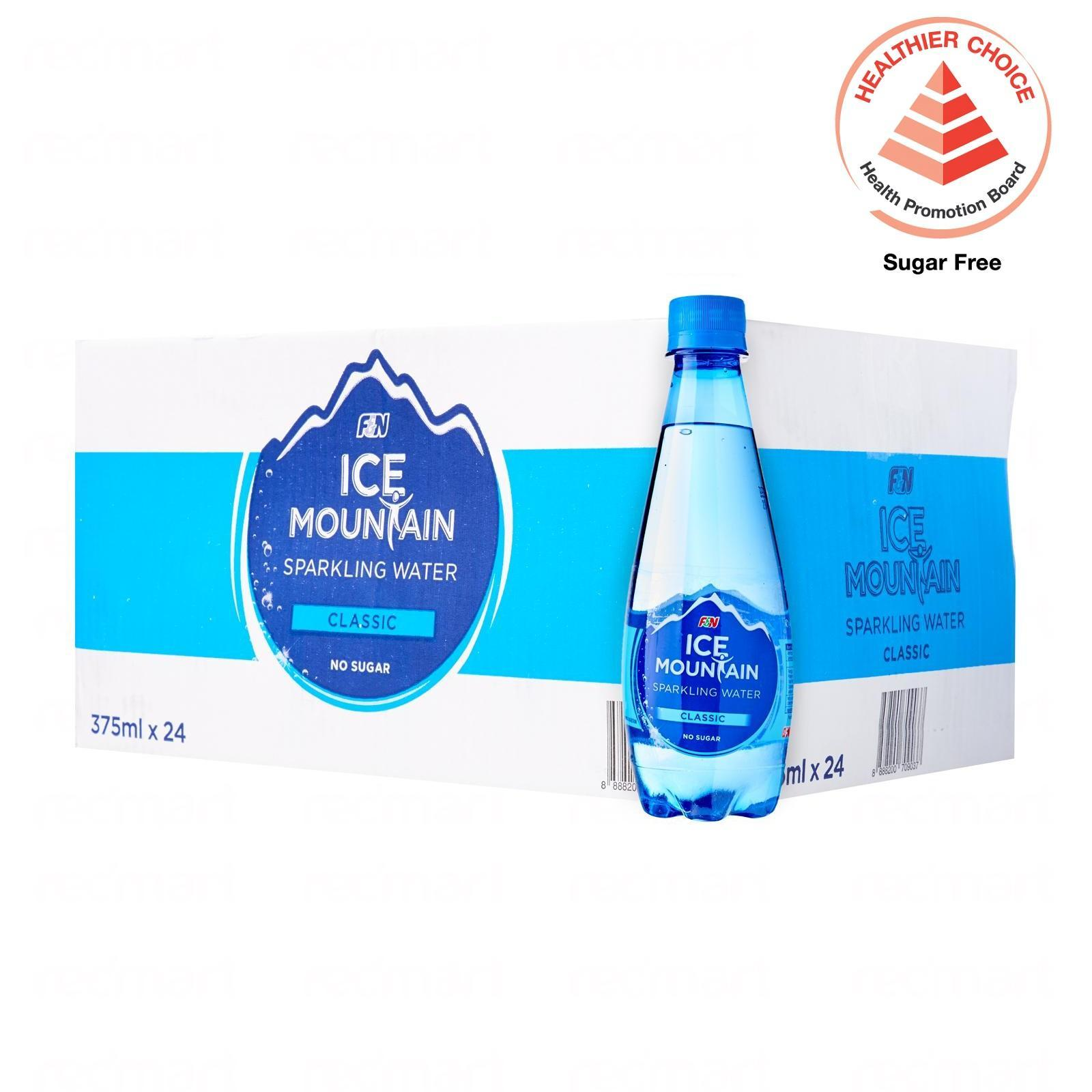 Ice Mountain Sparkling Water Classic 24 X 375Ml - Case