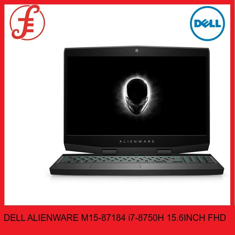 DELL M15-87184 ALIENWARE M15-87184 i7-8750H 16GB RAM 1 TB HDD PLUS 8GB SSHD GTX1060 15.6INCH FHD WIN 10
