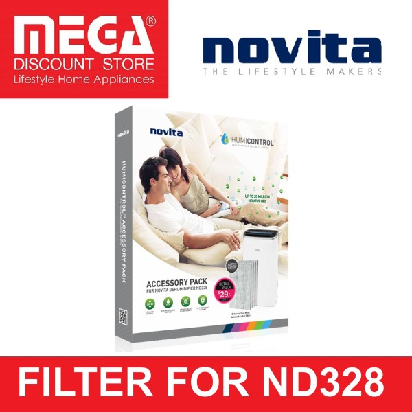 NOVITA FILTER PACK FOR ND328 DEHUMIDIFIER Singapore