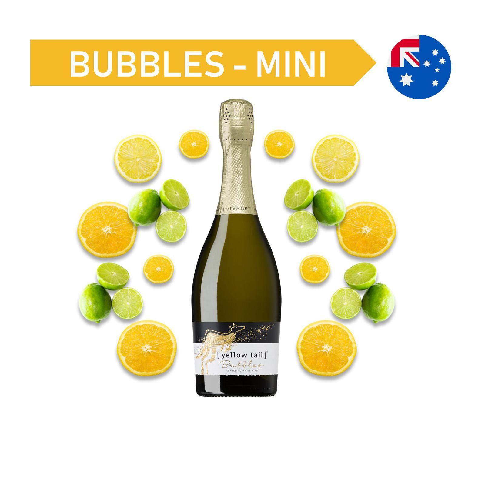 Yellow Tail Bubbles White Wine Mini