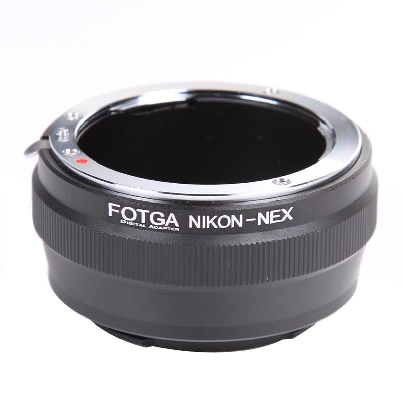 FOTGA AI-NEX Lensa kamera cincin adaptor berlaku Nikon D Lensa kamera ke Sony kamera semi Digital a7 a7 S badan kamera