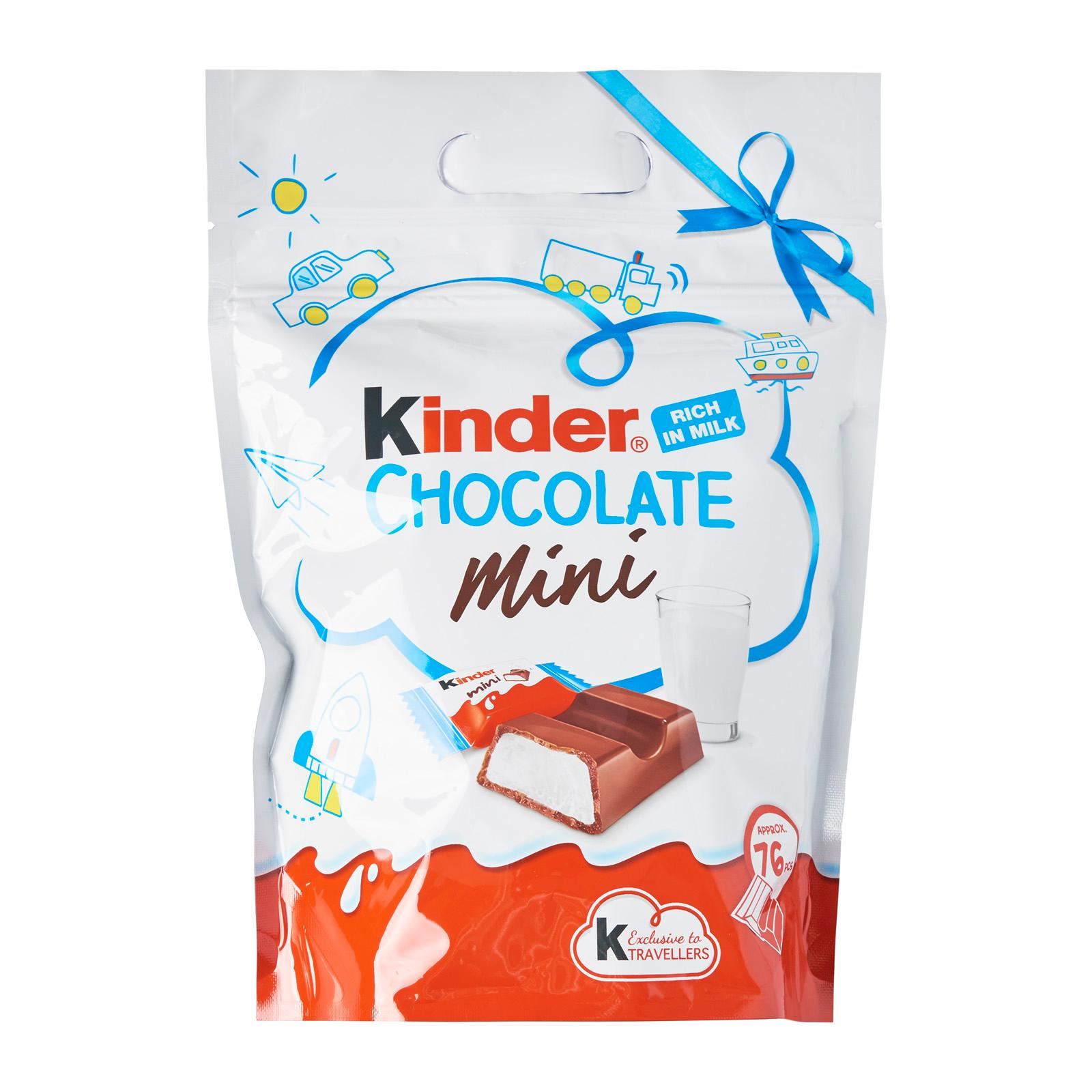 Kinder Country Mini Milk and Cocoa Chocolates Pouch