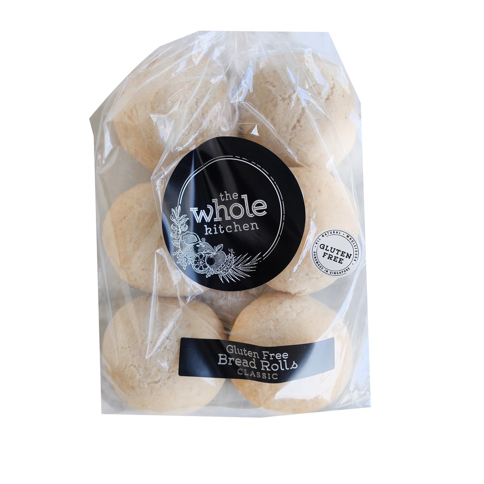 The Whole Kitchen Gluten Free Bread Rolls - Classic - Frozen