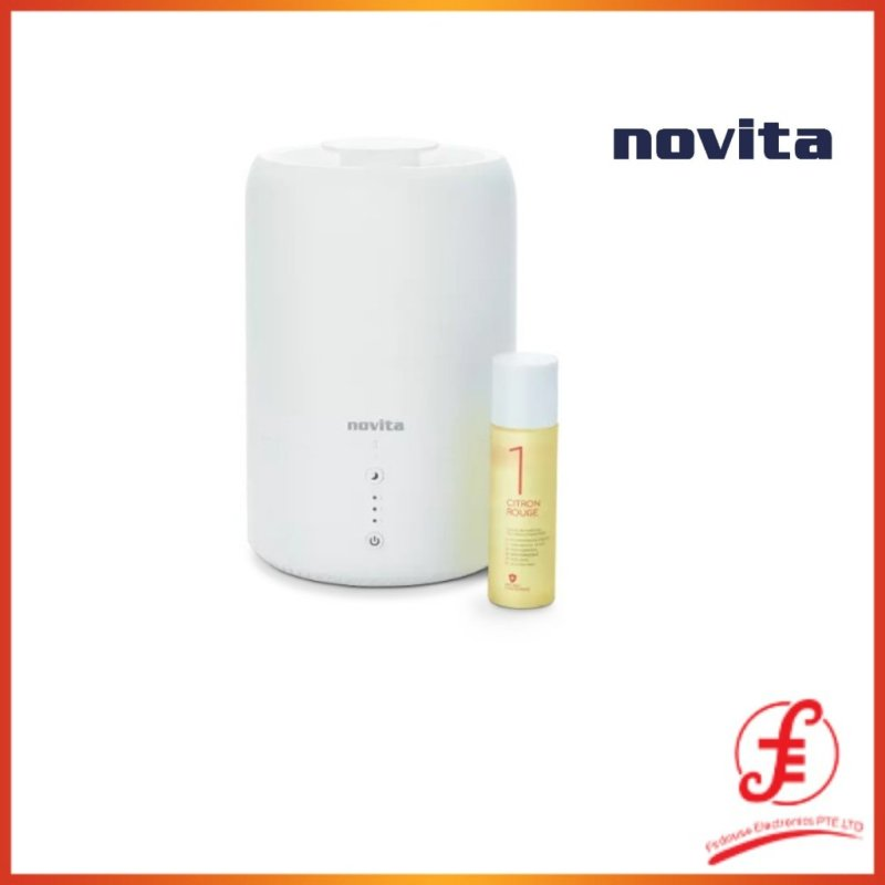 Novita Humidifier 107ft² NH810 Bundle with Air Purifying Solution Concentrate & Anti-Bac Spray (810 nh-810) Singapore