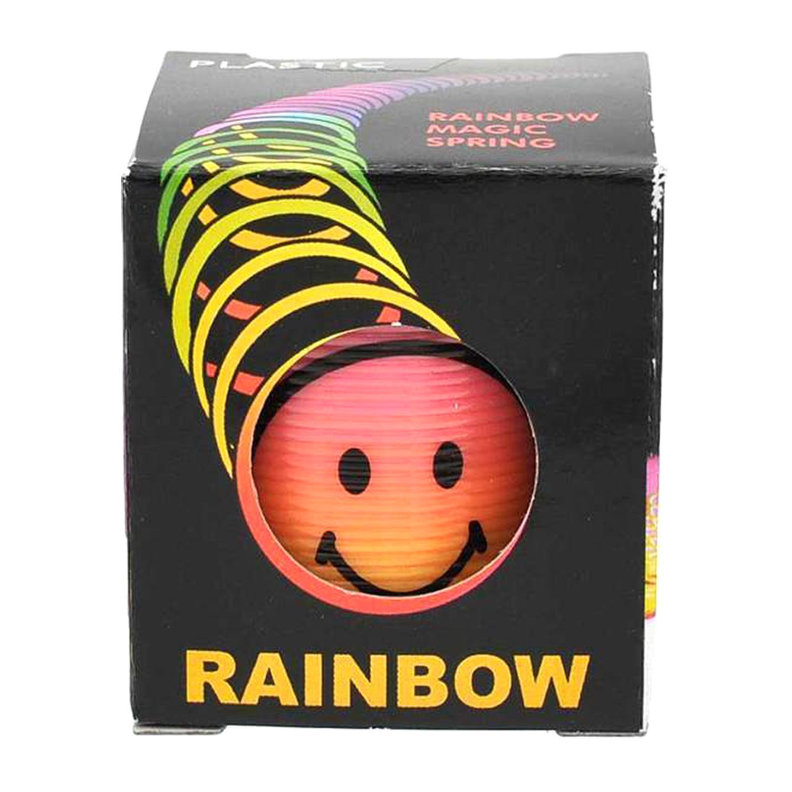 MTRADE Mini Smile Face Rainbow Magic Spring Toy 1 PCS/ Box