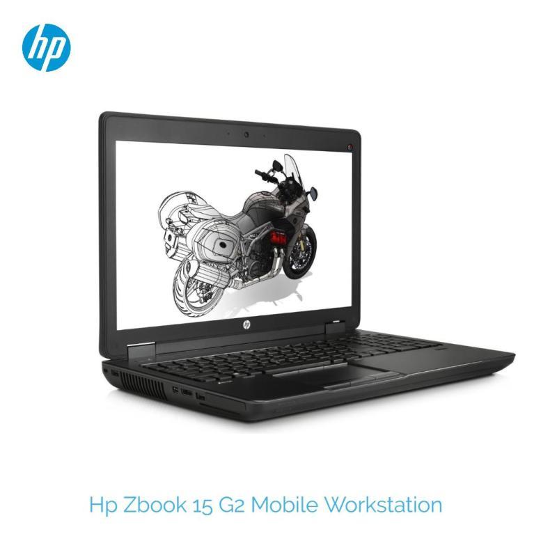 Hp Zbook 15 G2 Mobile Workstation /i7-4810MQ #2.8ghz /32gb Ram/ 512GB SSD/ Nvidia K1100M 1gb/ Win 10 Pro / 15inch LED / Refurbished