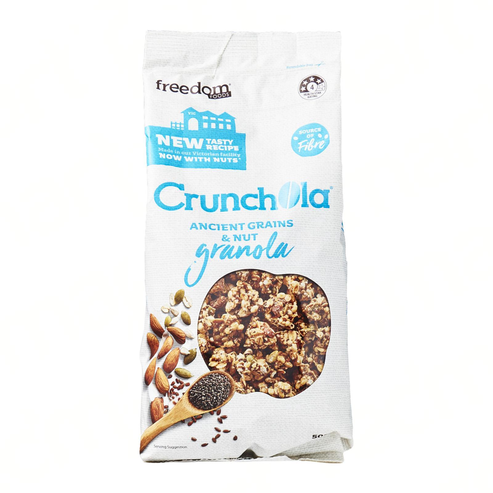 Freedom Foods Crunchola Ancient Grains And Nut Granola
