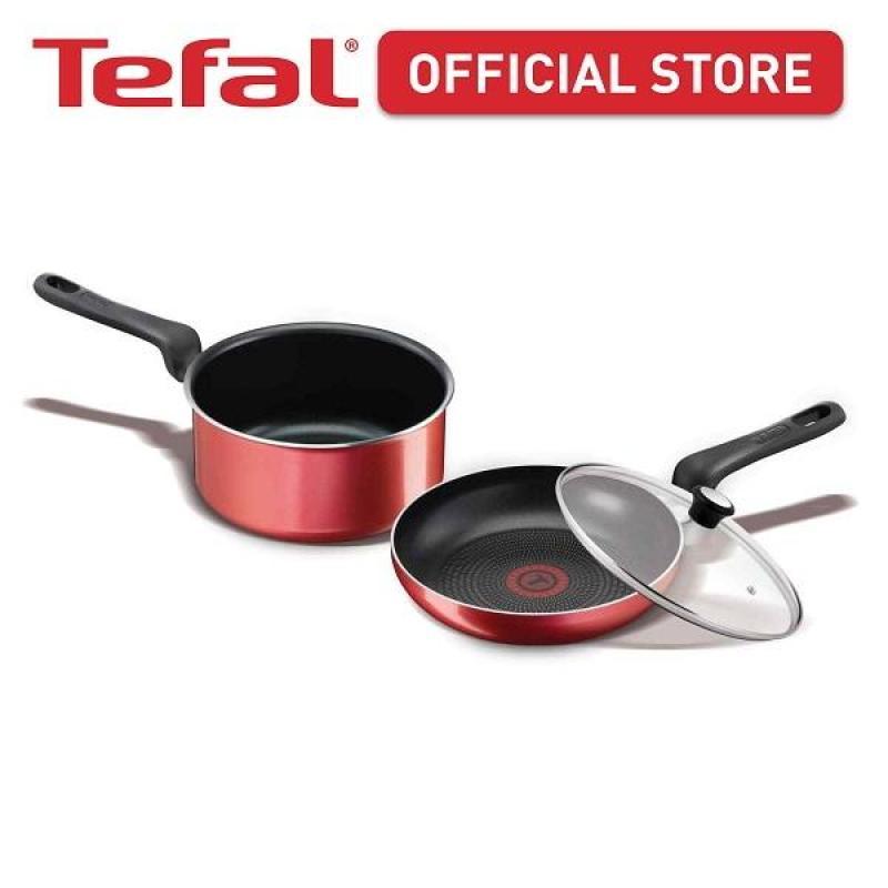 Tefal Red Star Collection Frypan & Saucepan Set CWS267 Singapore