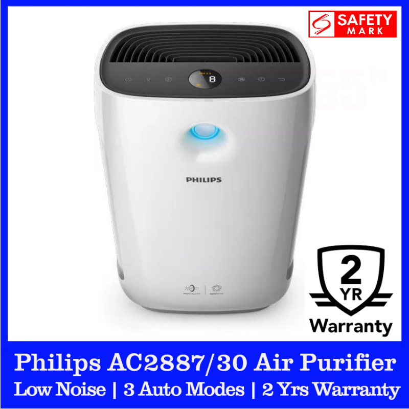 Philips AC2887/30 Air Purifier. Philips AC2887/30 Air Cleaner. For 25 - 79m2 space. Numeric display. 2 Years Warranty. Safety Mark Approved. Singapore