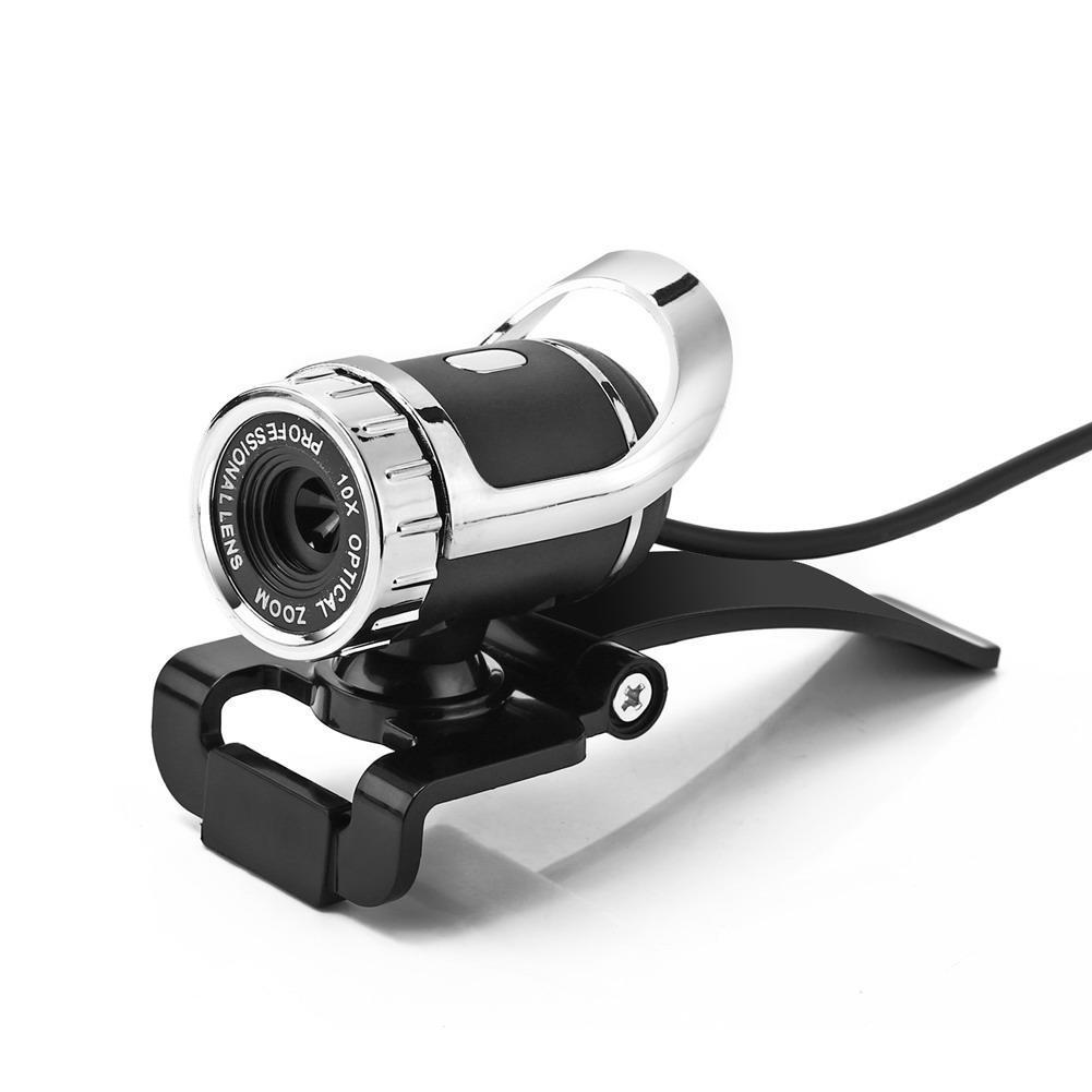 Webcam Camera HD 12 Mega Pixel with Mic USB 360 degree for Laptop Desktop