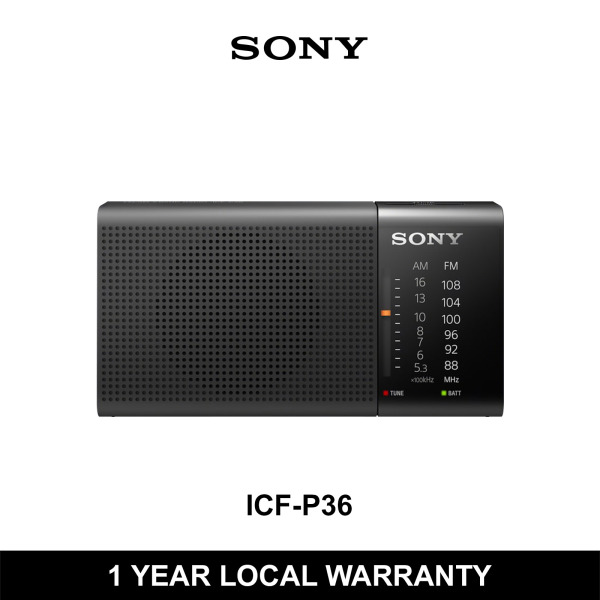 Sony ICF-P36 Analog Tuning Portable AM/FM Radio Singapore