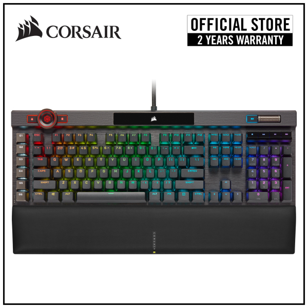 Corsair K100 RGB Optical-Mechanical Gaming Keyboard - Corsair OPX Keyswitches Singapore