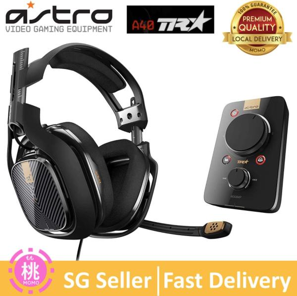 ASTRO Gaming A40 TR Headset + MixAmp Pro TR for ( PlayStation 4 or Xbox options )