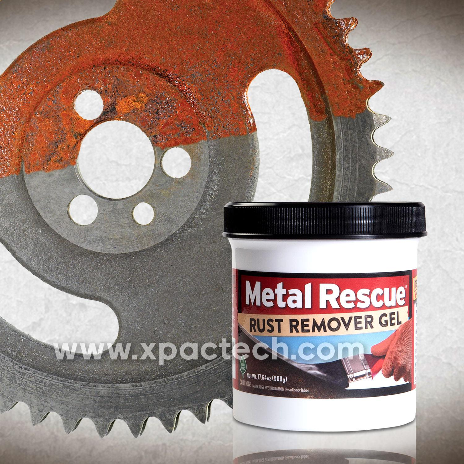 Metal Rescue® Rust Remover Gel By Xpac Technologies Pte Ltd.