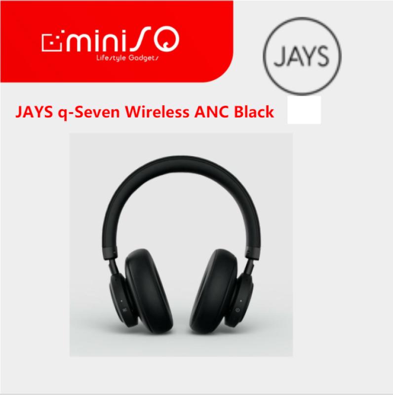 JAYS q-Seven Wireless ANC Black Singapore