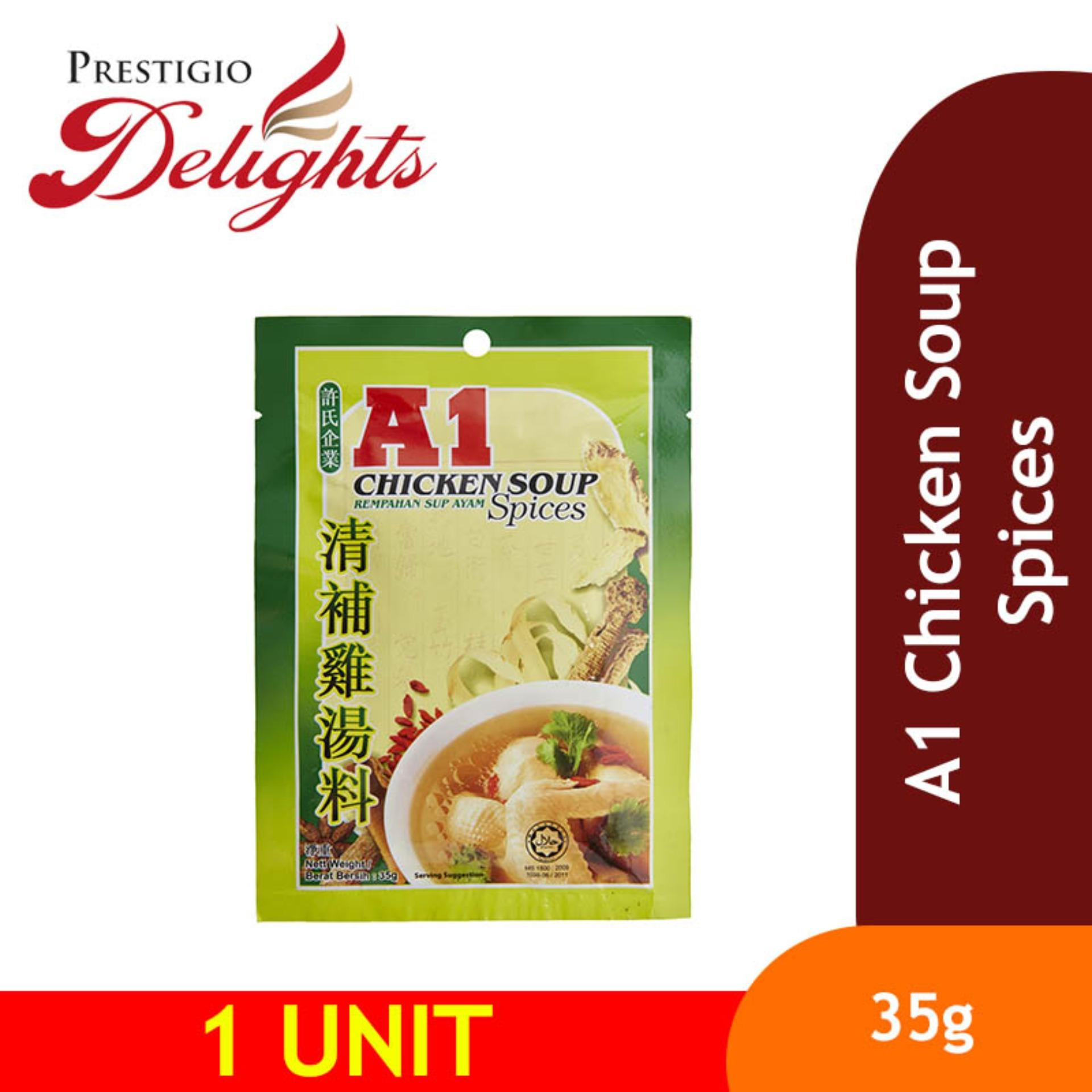 A1 Chicken Soup Spices 35g By Prestigio Delights.