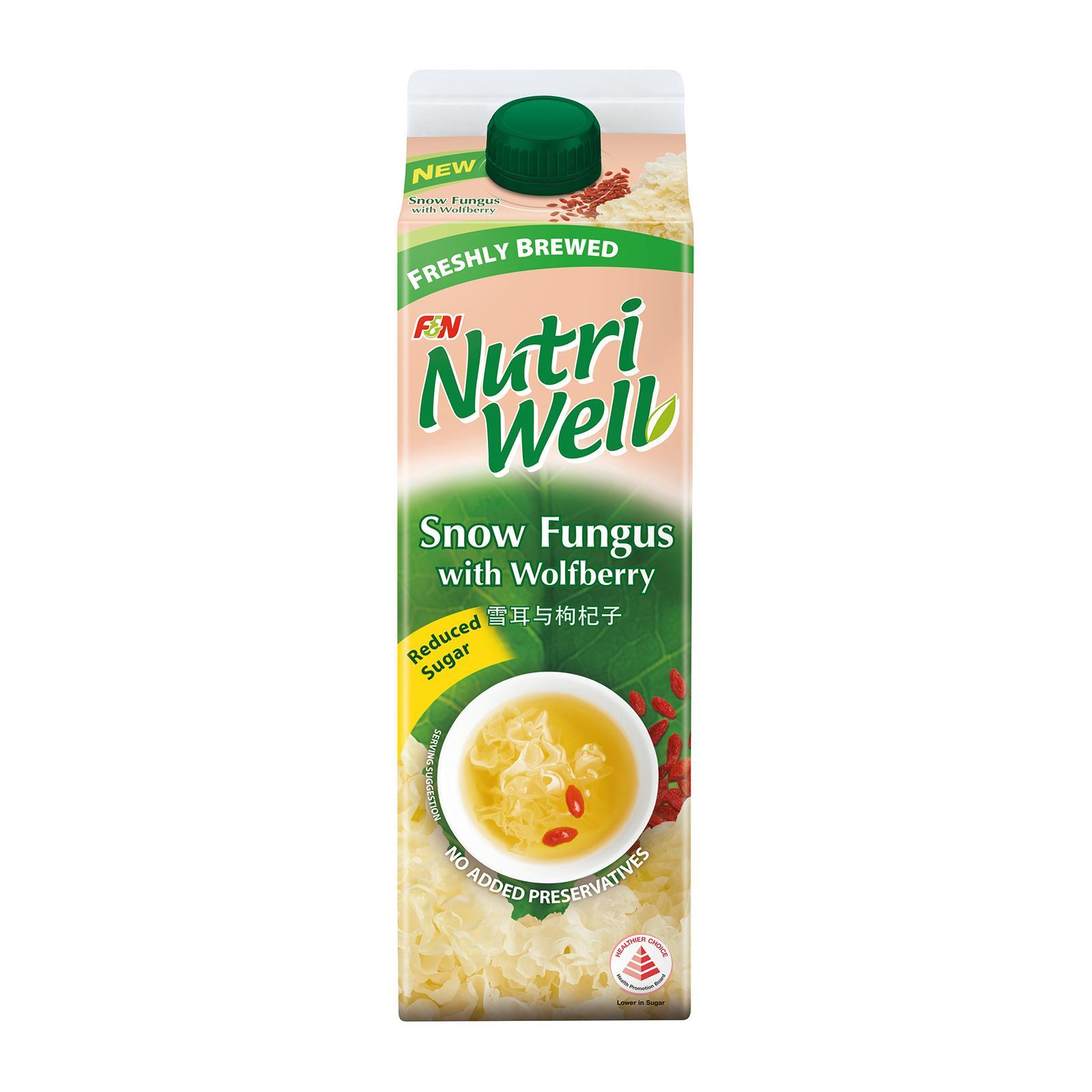 Nutriwell Snow Fungus With Wolfberry Tea By Redmart.