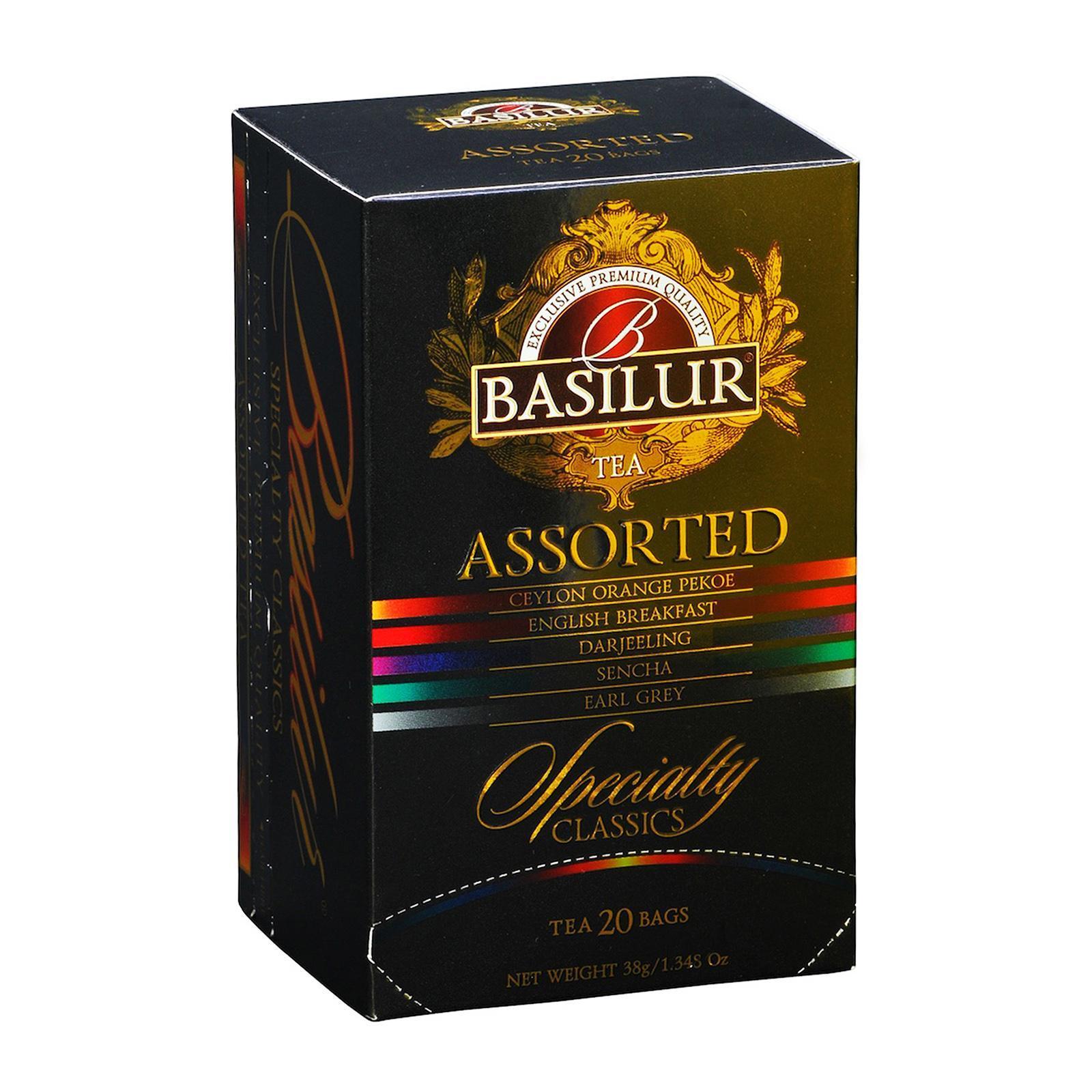 Basilur Tea Specialty Classics Assorted Tea