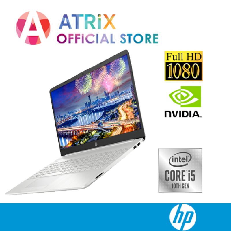 HP Laptop 15s-du1023TX | 15.6 FHD IPS | i5-10210U | 8GB DDR4 RAM | 512GB PCIe SSD | Geforce MX130-2GDR5 | Win10 home | 1Year HP Onsite Warranty | Preorder, End April delivery