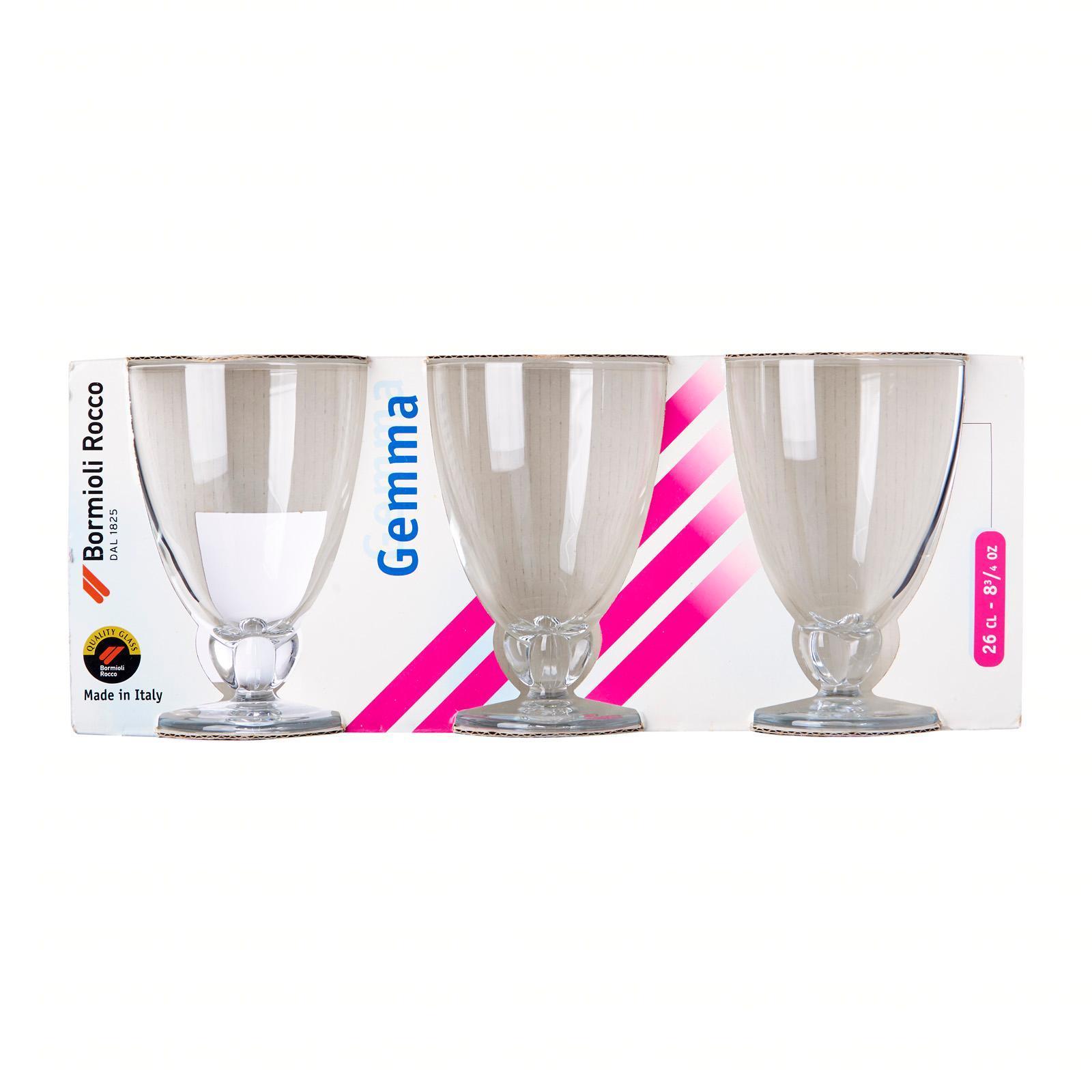 Bormioli Rocco Gemma Water Glass 26cl