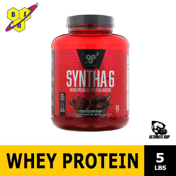 Buy BSN, Syntha 6, Ultra Premium Protein Matrix, Whey Protein Powder to Build Muscle , 5 lbs Singapore