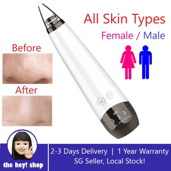 Buy Heys Electric Blackhead Remover Vacuum Suction Black Head Removal Facial Acne Pore Cleaner Extractor Tool Singapore