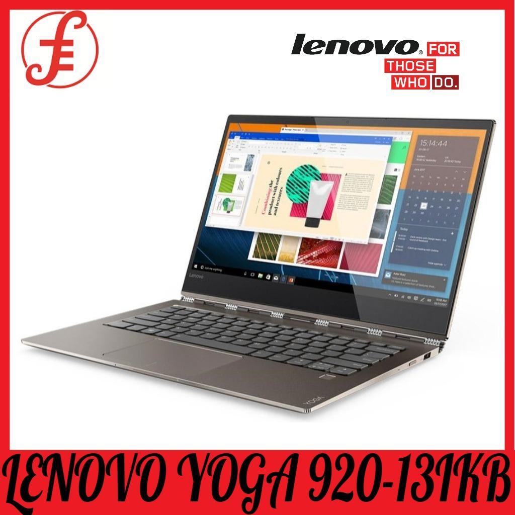 LENOVO YOGA 920-13IKB i7-8550U/16GB/1TB PCIe SSD 13.9INCH 4K UHD TOUCH SCREEN WIN 10 [Premium Refreshed]