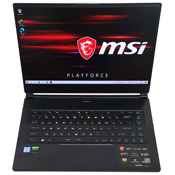 MSI GS65 Stealth 9SE (i7-9750H, RTX 2060, 16GB, 1TB SSD, 15-inch), Preowned Playforce