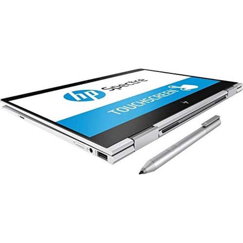 HP Spectre X360, Premium 2019 2-in-1 13.3 FHD Touchscreen IPS Laptop, Intel Quad-Core i7-8550U, 8GB DDR4, 512GB PCIe SSD, Thunderbolt Backlit KB BT 5.0 WiFi Windows Ink Fingerprint Reader Win 10
