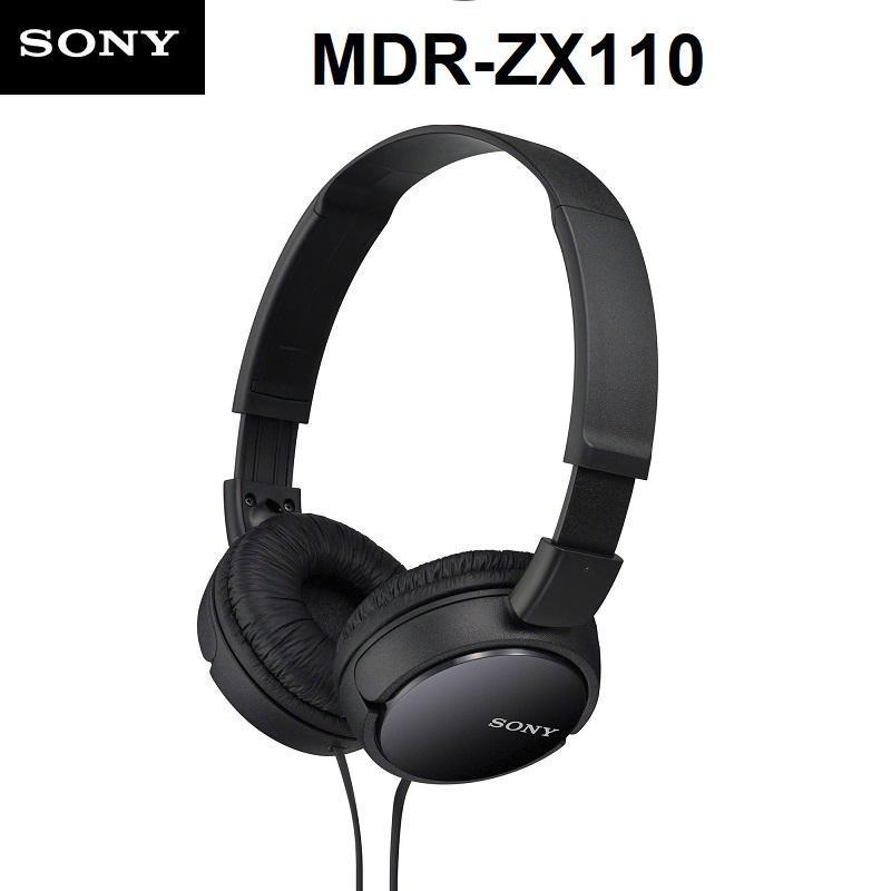 Sony MDR-ZX110 Wired 3.5mm On-Ear Headphones Earphone Lightweight Swivel Foldable Headset Singapore