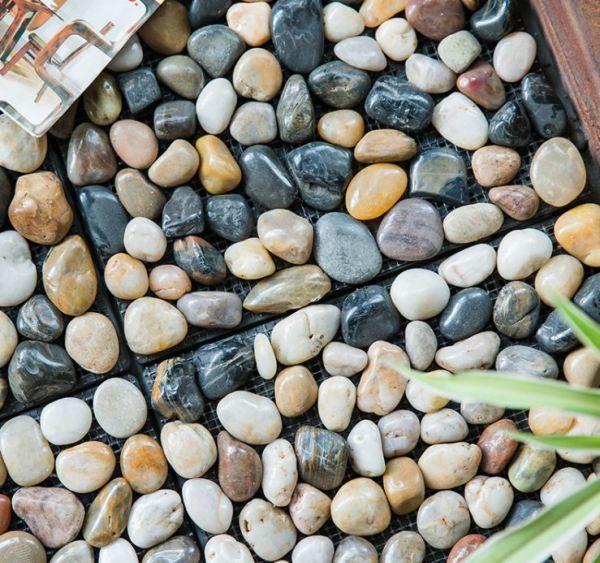 1pc Pebble slab - tropical stone DIY garden tiles stone flooring