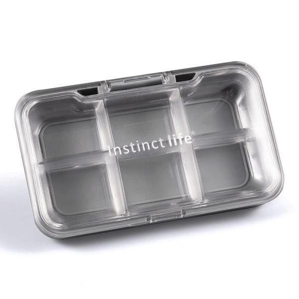 Mini Small Medicine Box Portable One Week at Early, Medium And Late Mini Travel with Sub-yao Pill Box Large Capacity Small