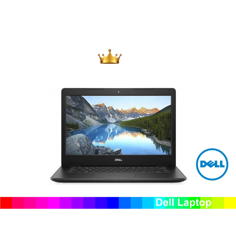 [New Arrival] New DELL Inspiron 14 3000 series 3480  Intel Core i3-8145U Processor 4GB RAM 1TB  Windows 10  Wireless-AC&Bluetooth,SD Card Reader,HDMI&USB 3.1,Waves MaxxPro Dell BackPack and wireless Mouse