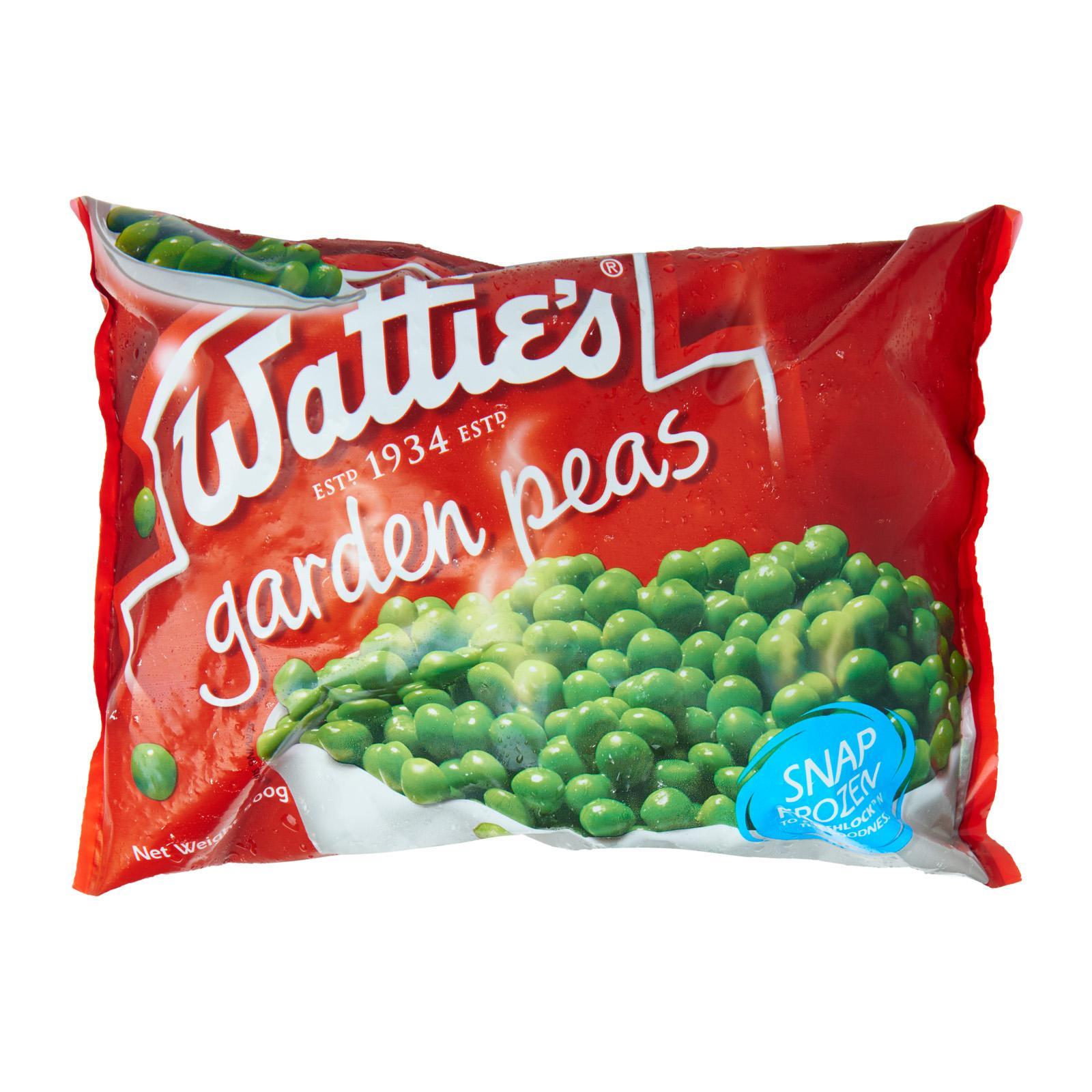 Watties Peas - Frozen By Redmart.