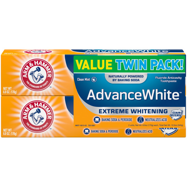 Buy Arm & Hammer Advance White Extreme Whitening Toothpaste (TWIN PACK) Singapore