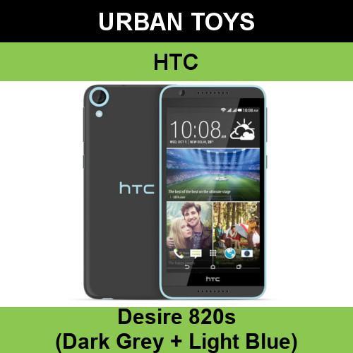 BRAND NEW Local Singapore Set HTC Desire 820s / Dark Grey + Light Blue /  2GB RAM + 16GB ROM / Expandable Storage / No Warranty