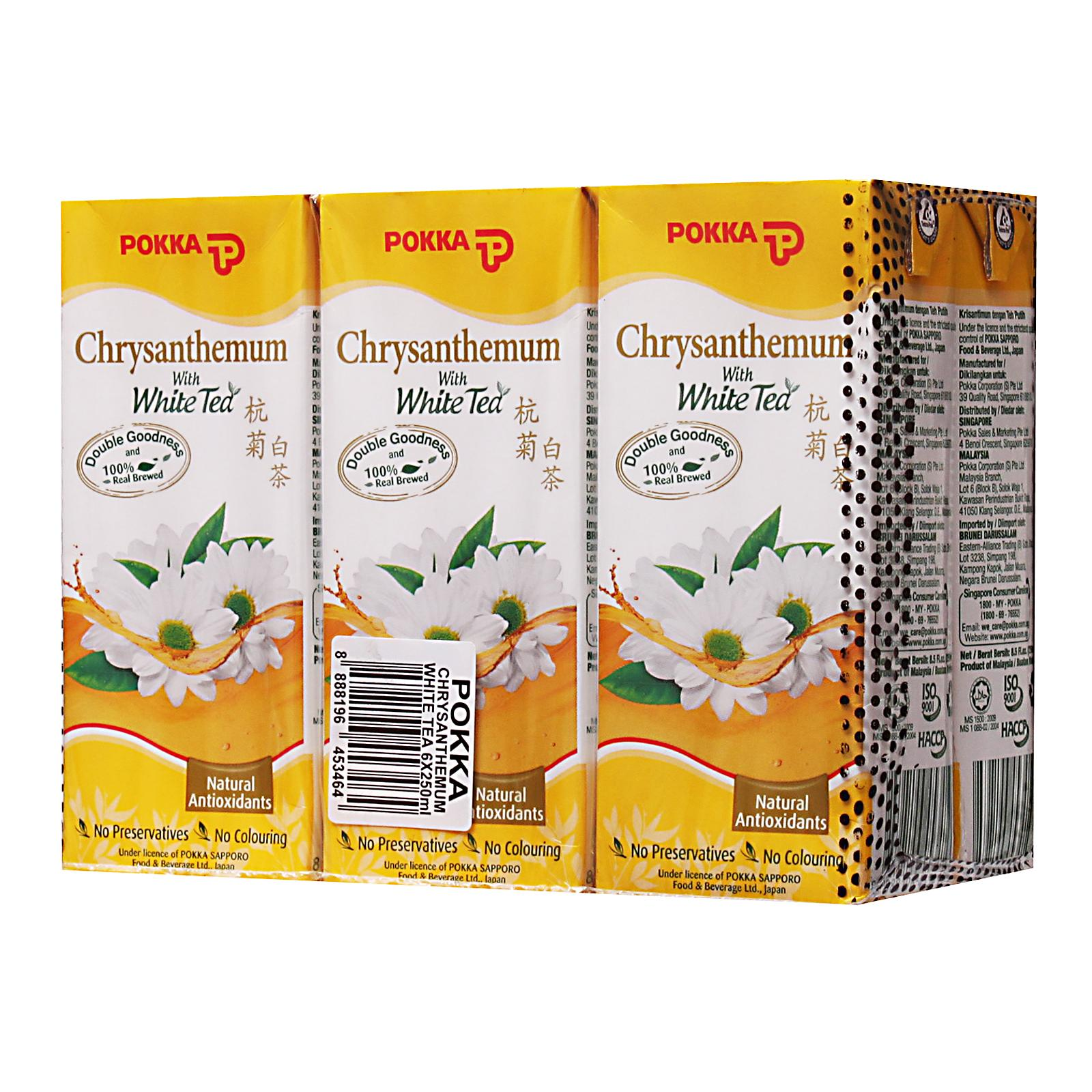 POKKA Chrysanthemum White Tea 6sX250ml