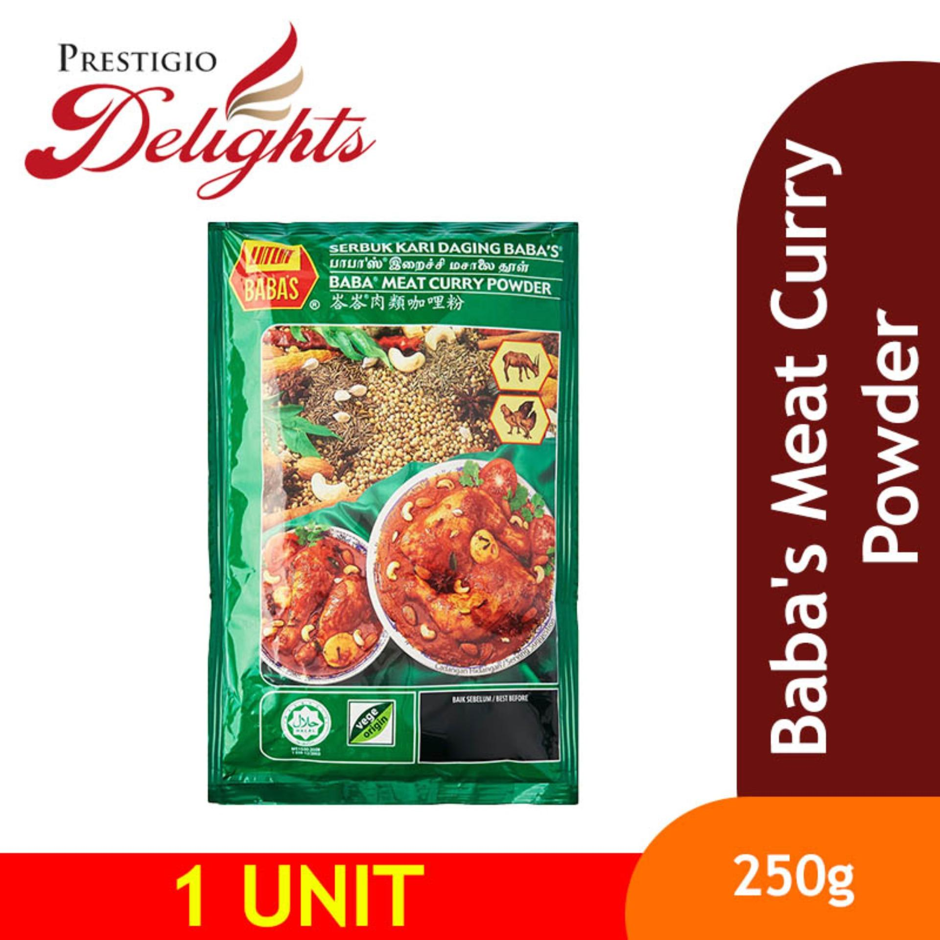 Babas Meat Curry Powder 250g By Prestigio Delights.