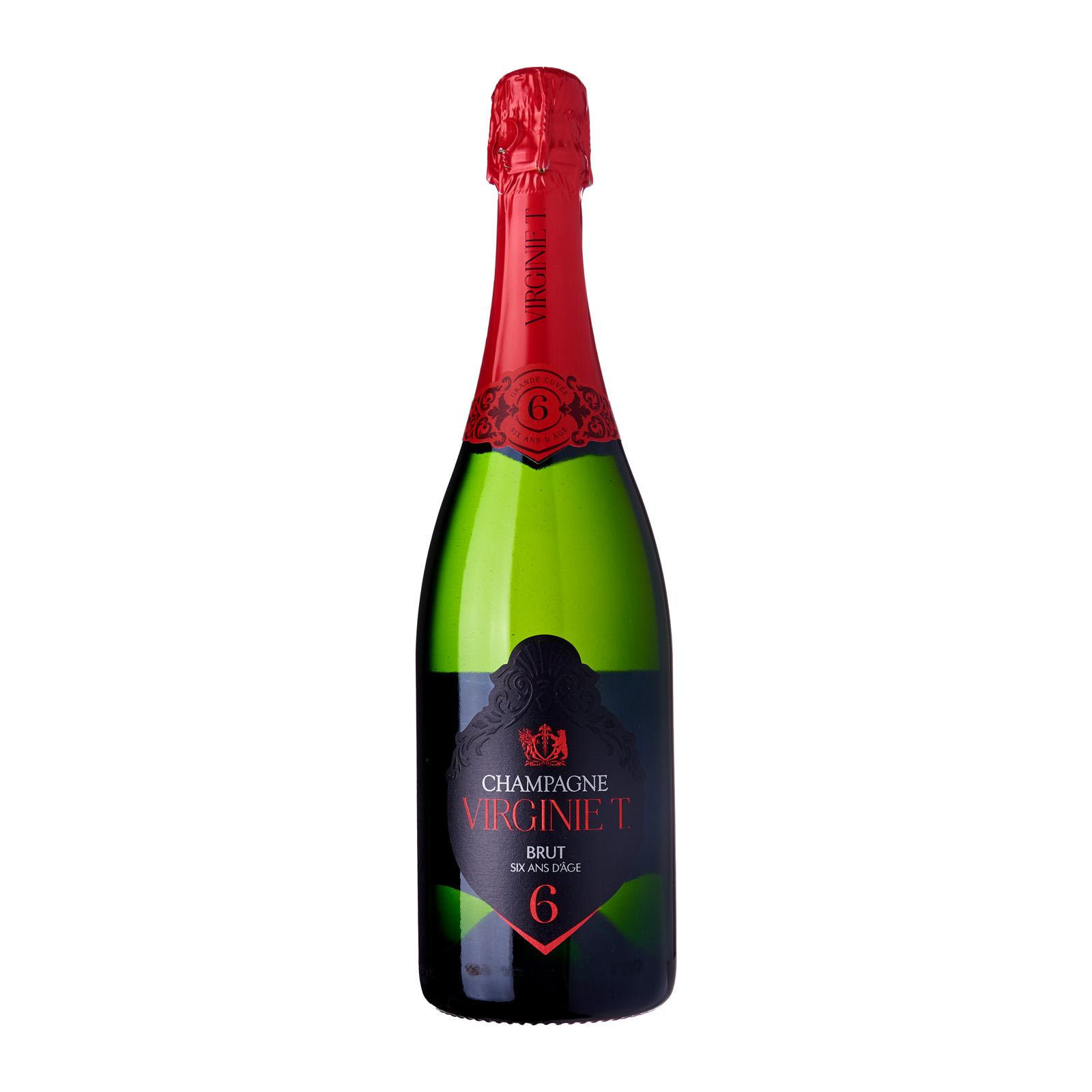 Champagne Virginie T. Cuvee 6 ans d'age with box