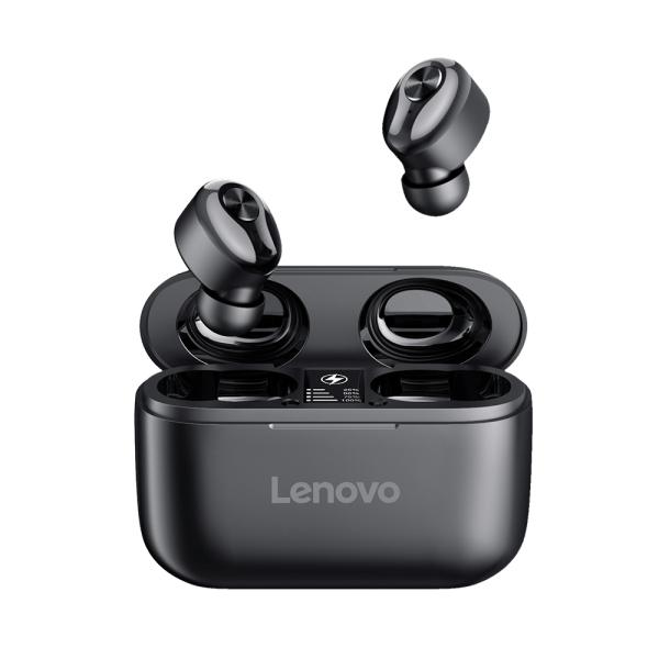 Tai nghe không dây Lenovo HT18 BT5.0 Tai nghe nhét trong tai Màn hình LED / Giảm tiếng ồn / Âm thanh nổi HiFi / Cuộc gọi hai bên / Ngân hàng điện 1000mAh / Tai nghe trình điều khiển 8mm với Tai nghe Mic Tương thích với Điện thoại thông minh