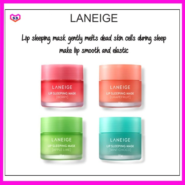 Buy Laneige Lip Sleeping Mask Berry/Grapefruit/Apple Lime/ Choco Mint 20Gr-Fast delivery-SG Seller- Expired on Feb 2023 Singapore