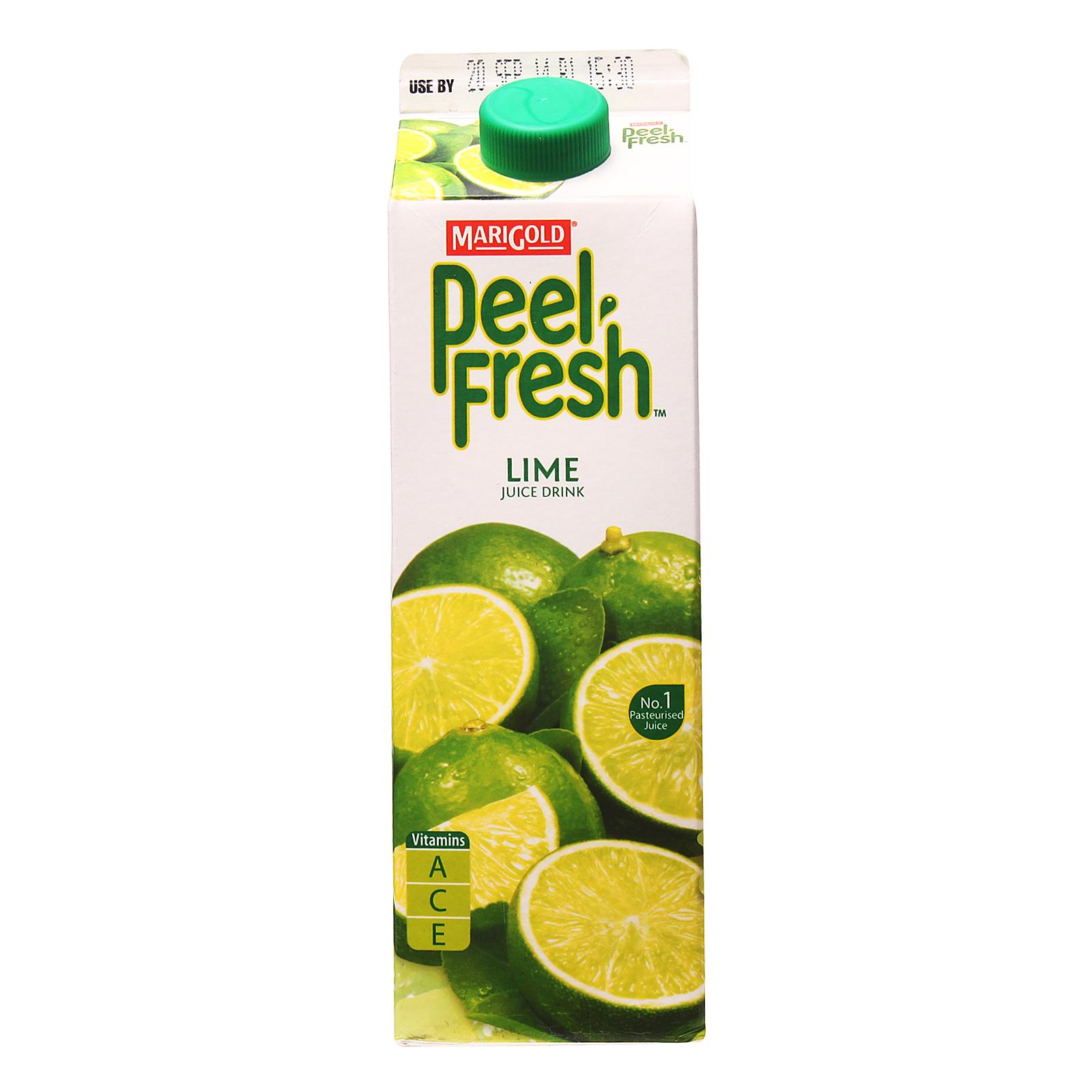 MARIGOLD PEEL FRESH Lime Juice Drink 1L