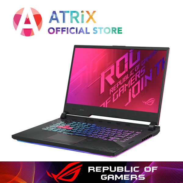 【Same Day Delivery】New ROG G512 | ASUS ROG STRIX G512LI-GTX1650Ti | 15.6 FHD 144Hz | i7-10750H | 1TB PCIe SSD | NVIDIA GeForce GTX1650Ti 4GB DDR6 | WiFi6 AX | 2Yrs Warranty