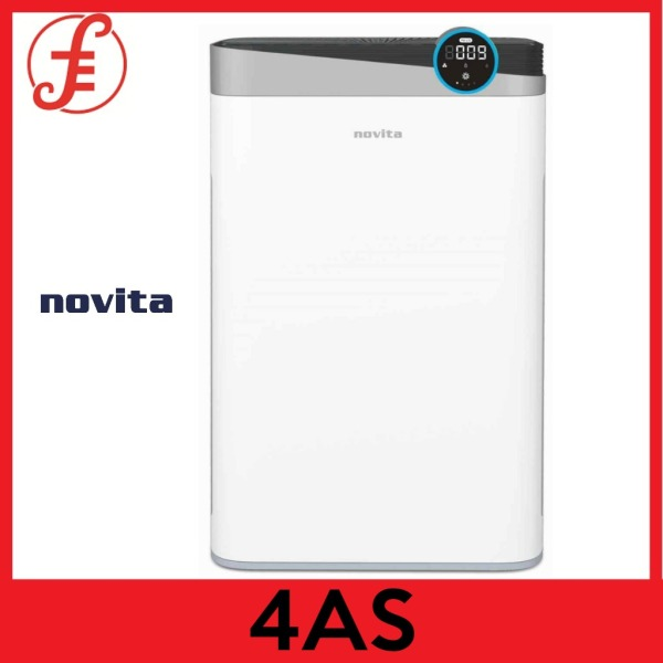 NOVITA A4S 4-IN-1 AIR PURIFIER with 2 bottles of Air Purifying Solution Concentrate (A4S) Singapore